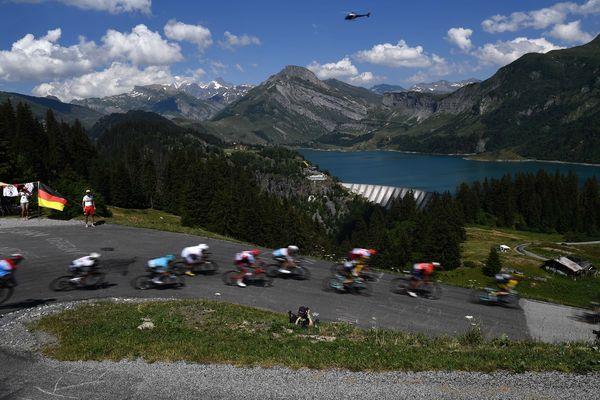 En 2020, le Tour de France revient au Cormet de Roselend dont l'ascension avait été annulée en 2019 suite à des coulées de boue.
