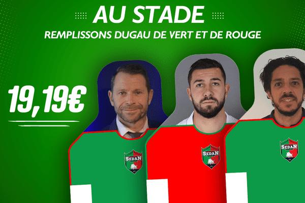 """Du côté de Sedan en revanche, il faut payer 19,19 Euros pour """"venir"""" au Stade"""