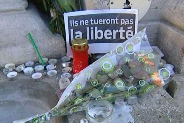A Decize aussi, on s'est ému des attentats qui ont endeuillé la France la semaine dernière.
