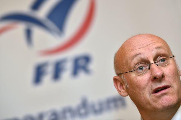 Bernard Laporte est soupçonné d'avoir fait pression sur la commission d'appel de la FFR, dont était membre le procureur de la République à Toulouse Patrice Michel, en faveur de Montpellier.