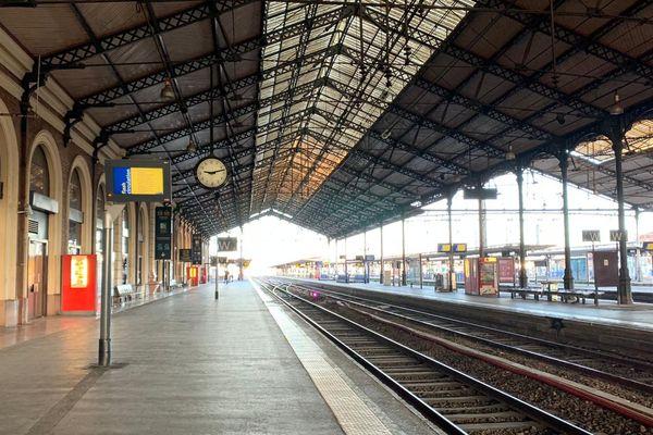 La gare Matabiau à Toulouse le 21 décembre 2019