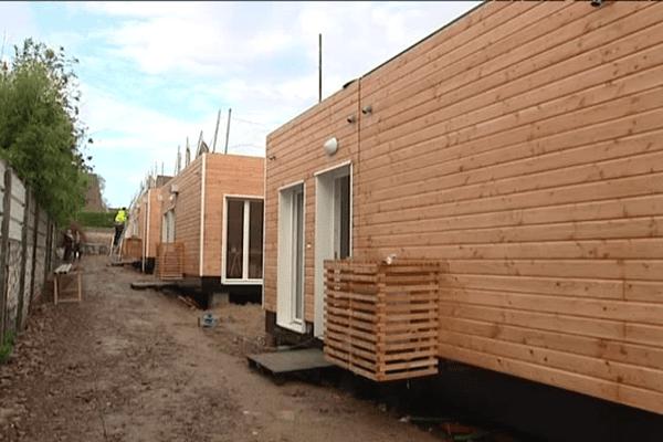 Ces pavillons modulaires sont livrés prêts à être habités.