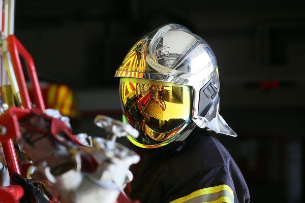 Illustration d'un pompier.