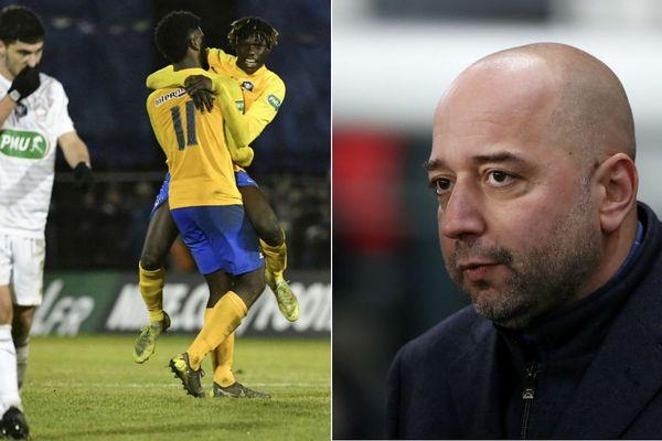 Gerard Lopez en colère après l'élimination des Dogues en Coupe de France par un club amateur de 4e division.
