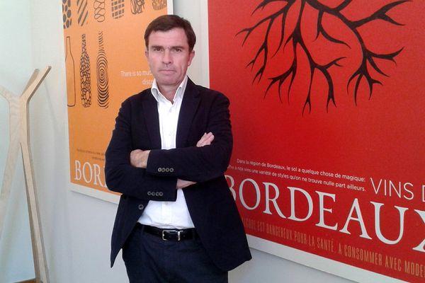 Bernard Farges, le Président du CIVB