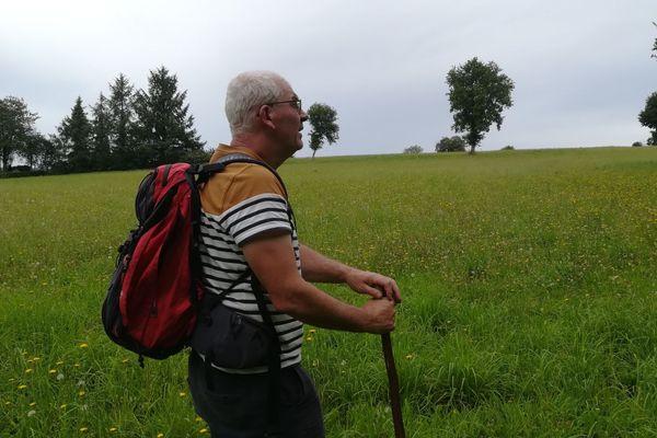 """""""Être dans la nature tous les jours m'a permis de découvrir Bon-Repos et ses alentours"""". Le lac de Guerlédan et ses environs ont toujours passionnés Hervé Leroy."""