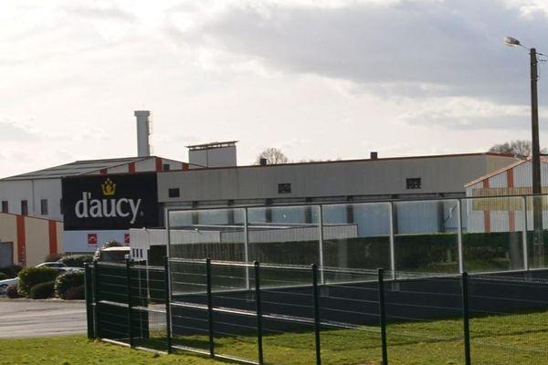 L'usine D'Aucy à Locminé dans le Morbihan