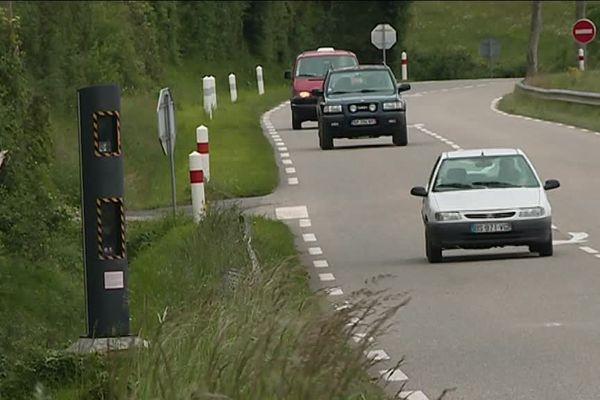 Le réseau routier du Gers est constitué quasiment exclusivement de routes nationales et départementales sans séparateur central