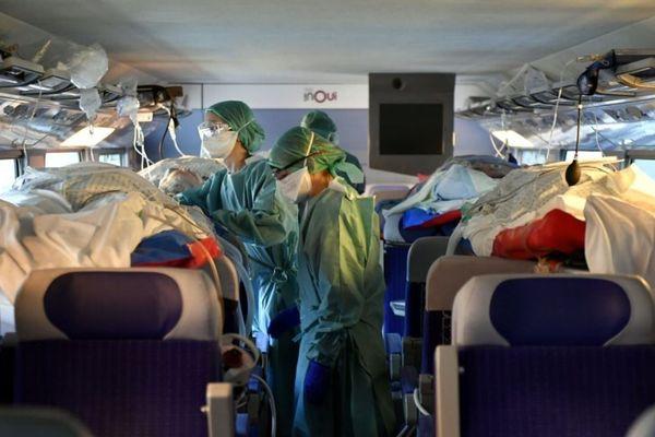 Un TGV médicalisé est attendu mercredi, en gare de Rennes. (image d'illustration)