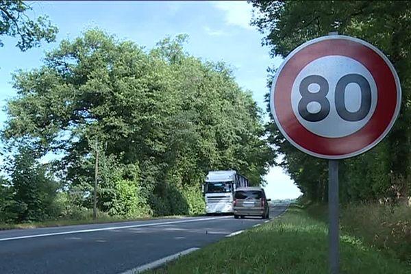 Les 80 km/h avaient été mis en place le 1er juillet 2018