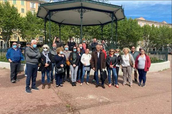 Le parti communiste a présenté sa liste pour les élections territoriales 2021 dimanche 2 mai, à Bastia.