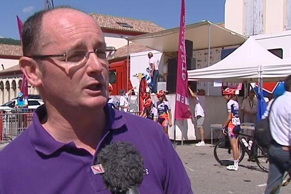 Christian Féroussier, élu en 2015, au Conseil départemental d'Ardèche, a été vice-président en charge des sports. L'arbitrage, ça le connait...