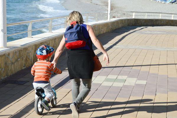 #monptitbonheurdujour : Il sait faire du vélo !!!
