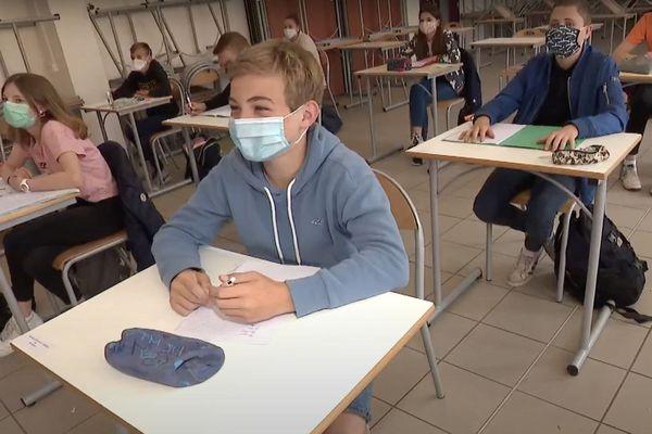 Le collège Notre-Dame des Dunes de Dunkerque se prépare au retour de tous les élèves, lundi 22 juin.