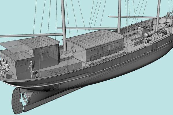 """François Lucas, architecte naval : """"La coque acier va rendre le navire plus marin et plus adapté aux besoins de l'association"""""""