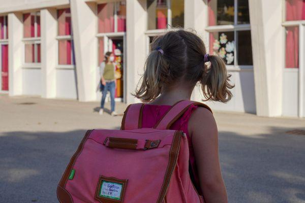 Les élèves de CE1 de l'école Sainte-Anne à Marseille n'ont plus de maîtresse depuis plusieurs jours.