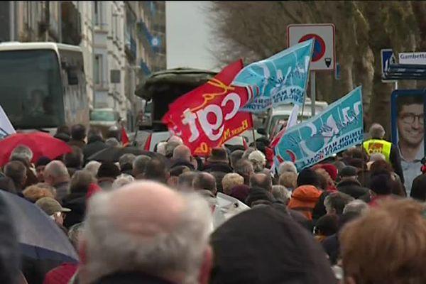 La manifestation a été particulièrement suivie à Brest.