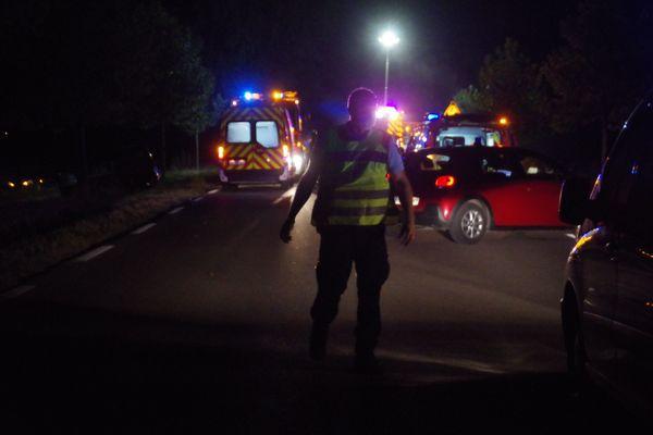 Quatre personnes ont été transportées au CHU d'Arles après une collision entre deux véhicules sur le pont de Beaucaire - 25 juillet 2021