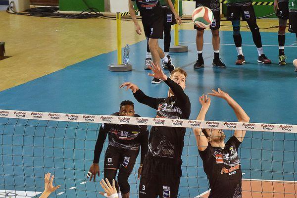 Les joueurs du TLM lors du précédent match contre Montpellier.