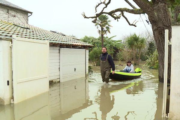 Guiche est toujours inondé