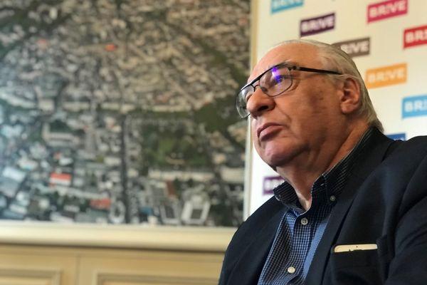 Didier Decoin en visite à Brive