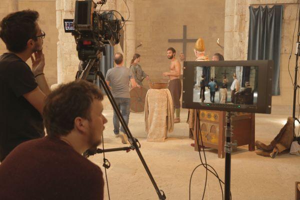 Moments de tournage en Normandie