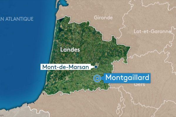 Les faits se sont déroulés à Montgaillard, en milieu d'après-midi.