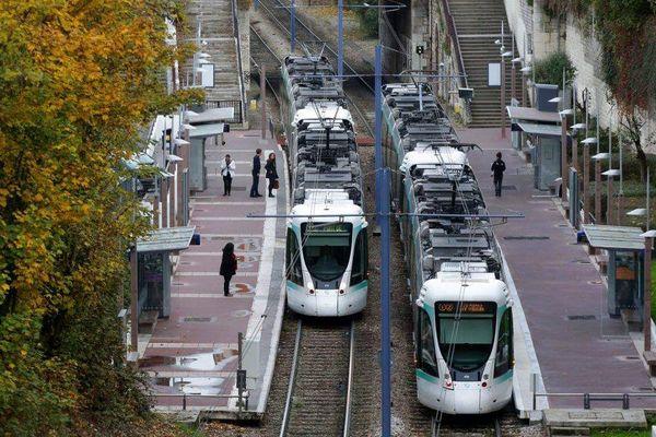 La ligne T2 du tramway.