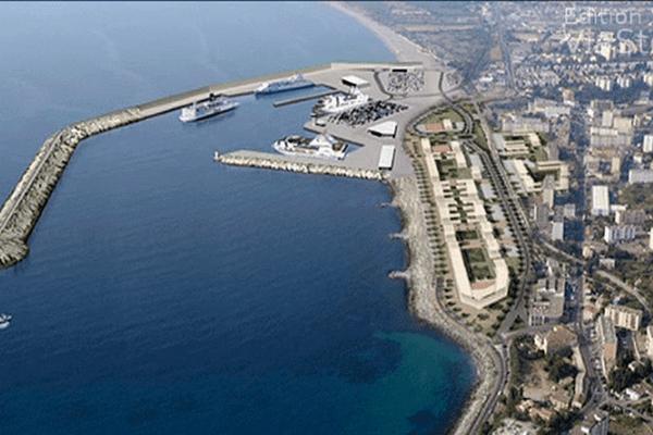 Le projet de port de la Carbonite au sud de Bastia