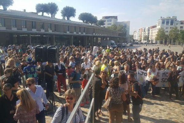La marche des sourds le 23 septembre à Montpellier.