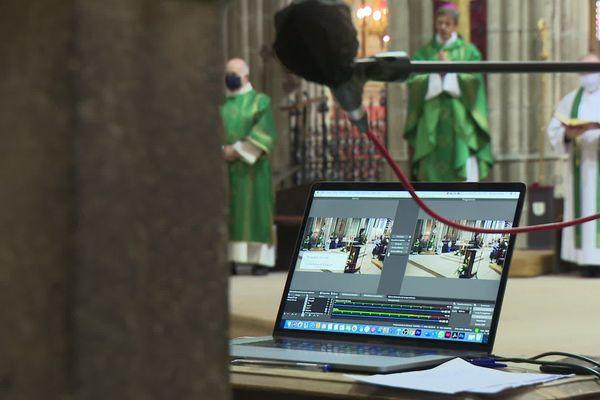 Messe virtuelle ce dimanche 8 novembre dans la cathédrale de Limoges