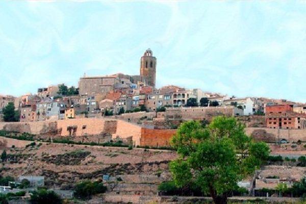La ville de Cervera en catalogne ne se sent aujourd'ui, ni monarchiste ni espagnole.