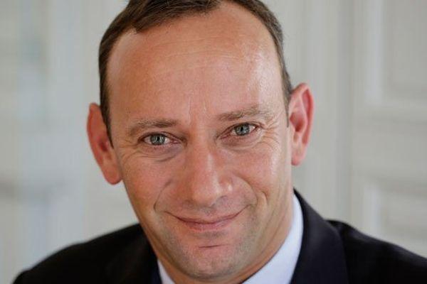 David Robo, maire sortant à Vannes.