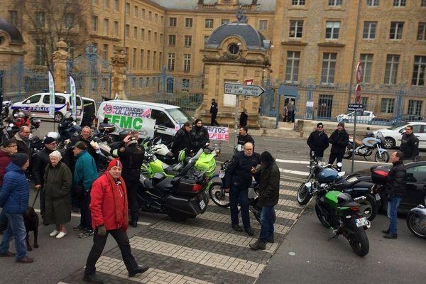 La fédération ardennaise des motards en colère a appelé tous les usagers de la route au rassemblement.