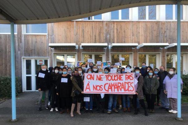 Les enseignants du lycée François Mauriac en grève ce lundi