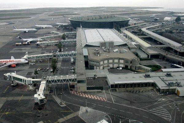 L'aéroport de Nice Côte d'Azur (Illustration)