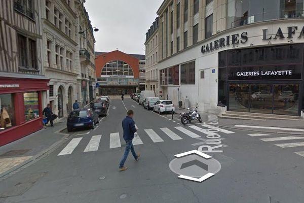 les galeries lafayette à Orléans