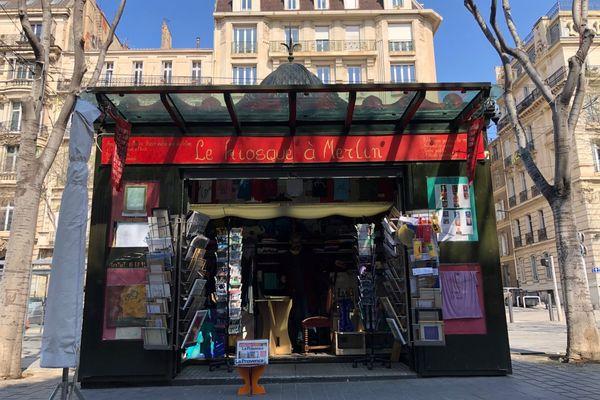 """Le Kiosque à Merlin est le plus ancien des """"reconvertis"""" de Marseille."""
