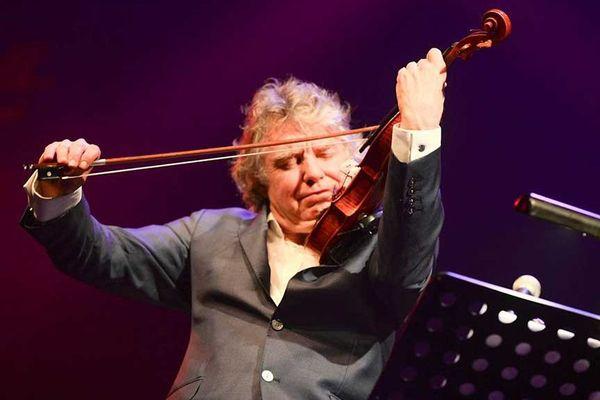 Didier Lockwood , salle Marcel Hélie - Jazz sous les pommiers 2015