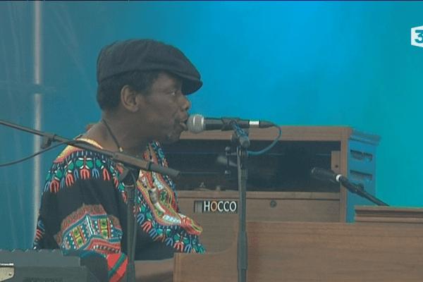 Lucky Peterson en concert sur le port pour Jazz à Vannes 2015