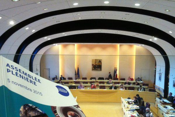 Dernière session plénière en l'état au conseil régional
