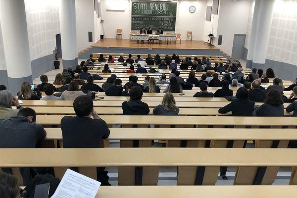 Les états généraux de la langue corse se sont déroulés samedi à Corte à l'initiative de l' associu Cusì.