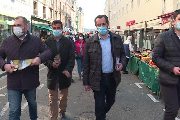 Nicolas Bay a lancé sa campagne pour les élections régionales à Dieppe