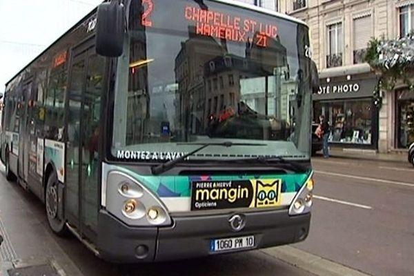 Les bus du réseau TCAT sont tous rentrés au dépôt suite à l'agression.