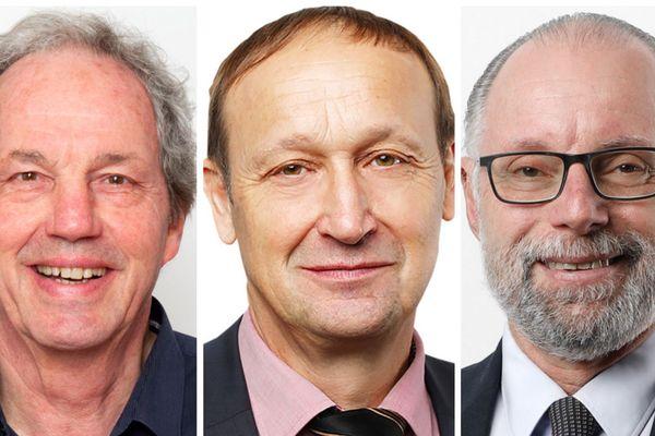 Michel Bugada, Michel Cêtre et Gilles Beder sont candidats au second tour des municipales à Salins-les-Bains