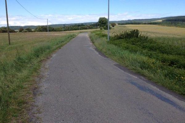 La paisible départementale RD 73