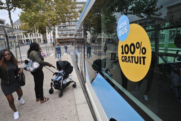 Les bus sont gratuits à Niort depuis septembre 2017.