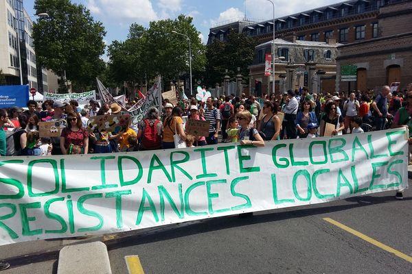 Une marche pour le climat à Lyon avec un départ prévu de la Manufacture des Tabacs (25/5/19)