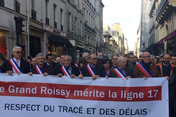 Venus du Nord-Est de l'Île-de-France, les maires et sénateurs ont défendu les lignes 16, 17 et 18, inquiets des délais.