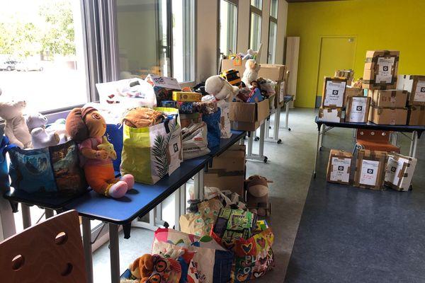 Nîmes - Les dons récoltés par les élèves du Lycée Frédéric Mistral - 01.06.21